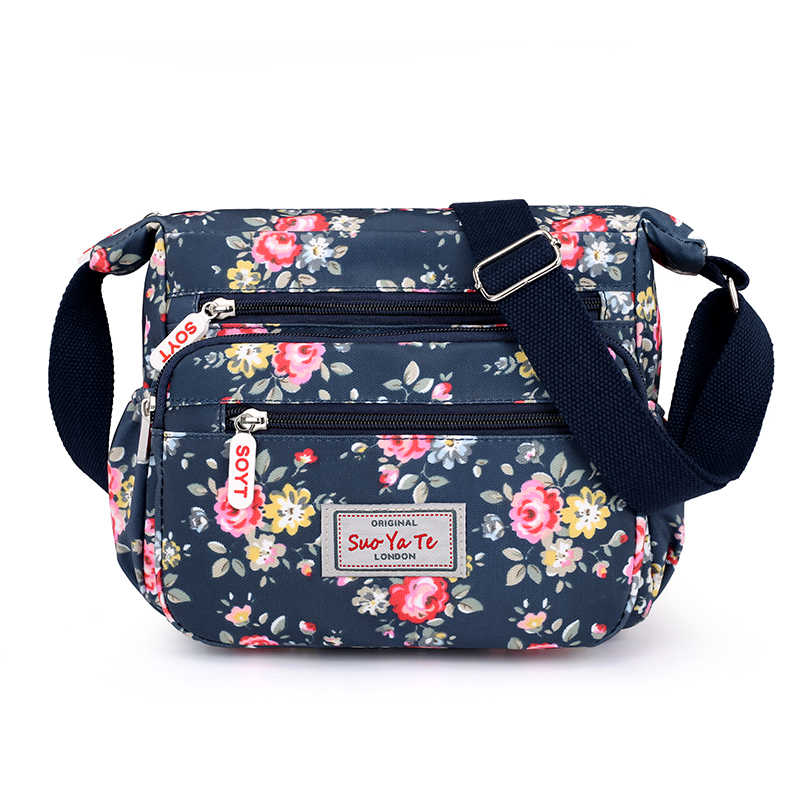 d386e9bd2f4 Summer Printing Women Messenger Bags Casual Big Capacity Shoulder ...