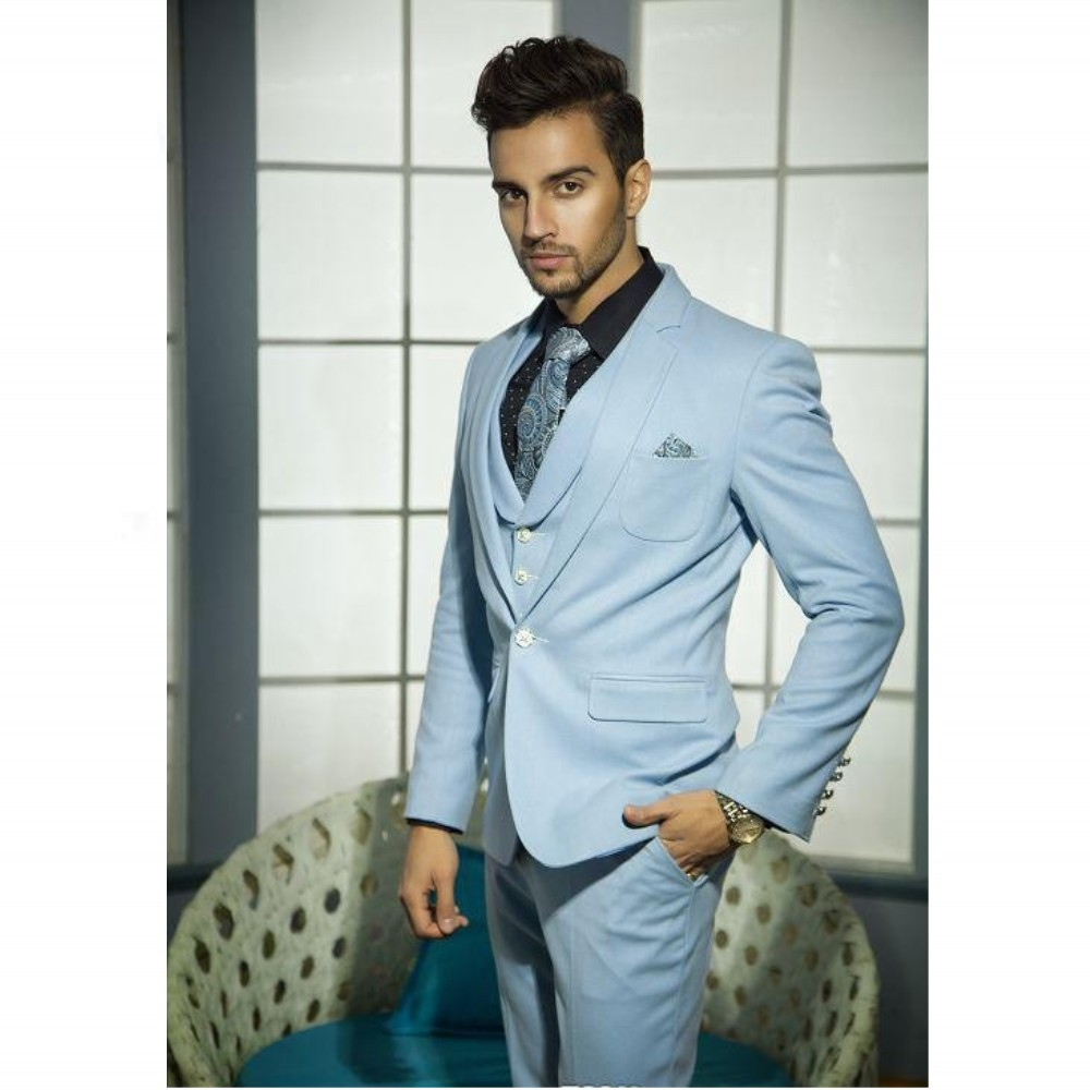 Western Style New Fashion Male Suits Men Wedding Suits Groom Groom ...