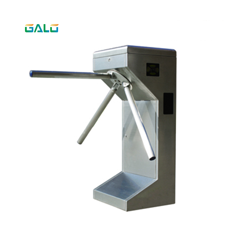 GALO Tripod Turnstile Series 304 Stainless Steel Tripod Swing Turnstile With RFID Card For Thoroughfare