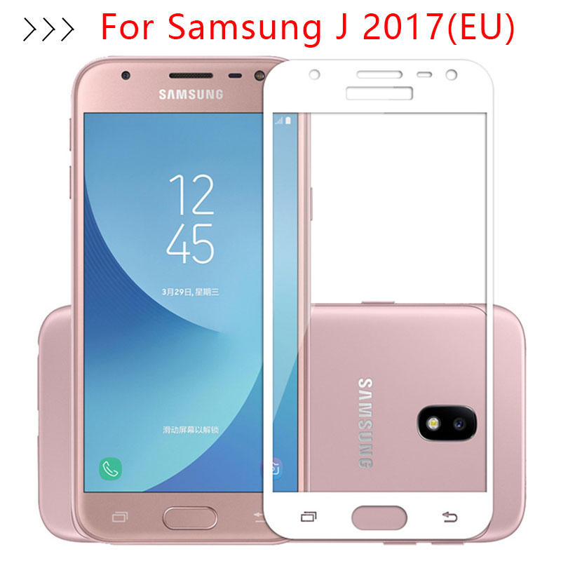 Protective Glass For <font><b>Samsung</b></font> J7 2017 <font><b>J5</b></font> J3 J 3 5 7 Tempered Glas Screen Protector Case On The Galaxy J32017 J52017 J72017 Film image