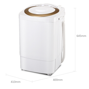 цена на 2018 NEW Home Portable Mini Compact Clothes Washer with Single Barrel 235W Waterproof Washing Machine with Drain Basket 5kg