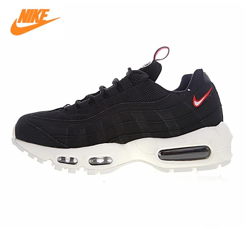 Nike Air Max 95 TT Men's Air Mattress Running Shoes, Black, Shock Absorption Non-slip Wear-resistant Breathable AJ1844-102 цена