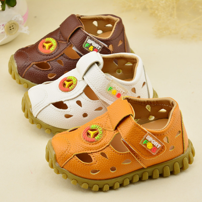 2018 Summer Beach Boy Sandals Kids Leather Shoes Fashion Sport Sandal Children Sandals For Boys Casual Shoes For 1-3 Years Old