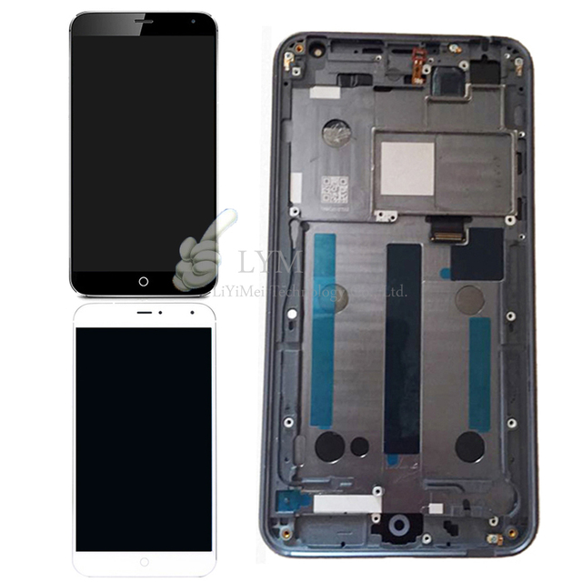 """5.36"""" Black/White LCD+TP+Frame for Meizu MX4 MX 4 LCD Display+Touch Screen Assembly with Frame Replacement Free Shipping+Tools"""