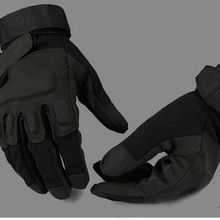 US special forces combat fighting half-finger gloves men Bla