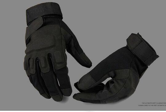 US Special Forces Combat Fighting Half-finger Gloves Men Tactical Anti-cut Outdoor Sports Full Finger