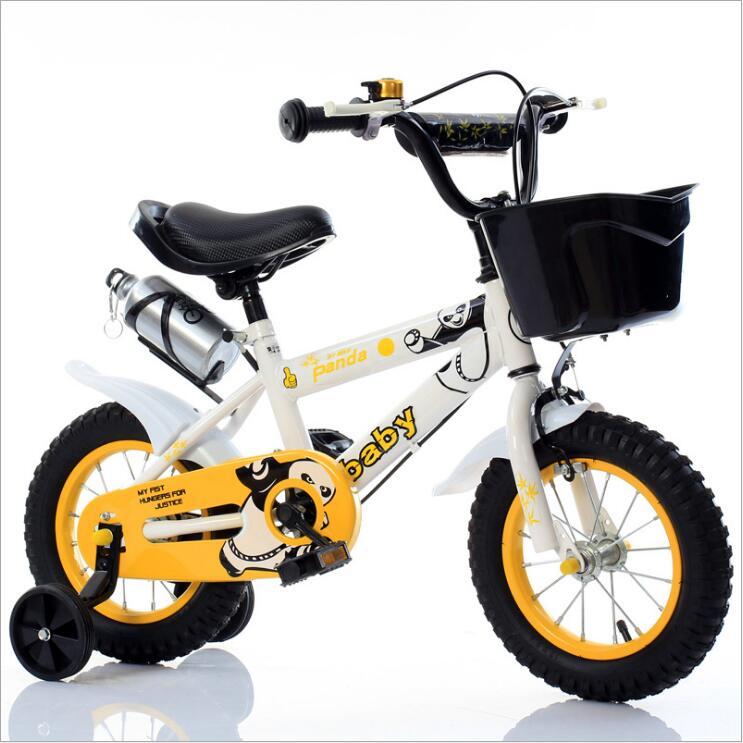 Детский велосипед 12 дюймов 14 дюймов 16 дюймов велосипед детская коляска велосипед для детей четыре колеса велосипед 3 8 лет