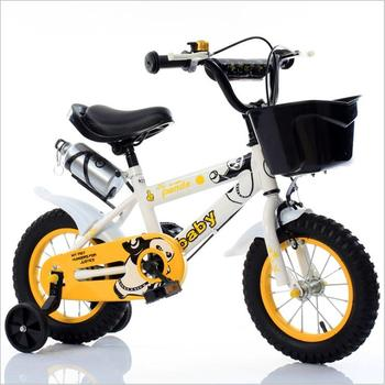 Children's Bicycle 12inch 14inch 16inch Bike Baby Stroller Bicycle Ride on Toys for Children Four Wheels Bicycle 3-8 Years Old