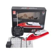 Высокое качество 4 канала rc дирижабль с RC контроллер, зарядное устройство, радио управления RC Пластиковые Мини Скорость лодки дирижабль детские игрушки