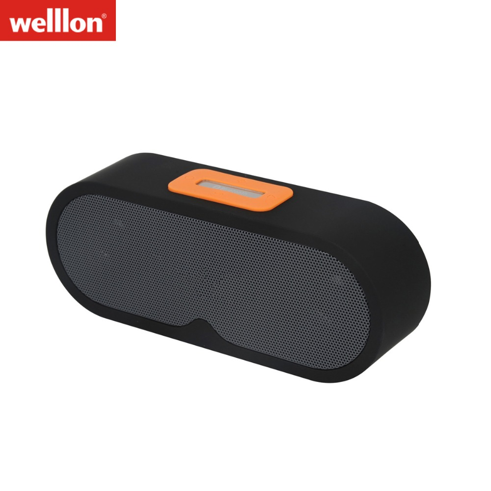 Bluetooth Speakers WELLLON Outdoor Portable Bluetooth Speaker Wireless Waterproof Mini Speaker Super Bass With Mic TF Card