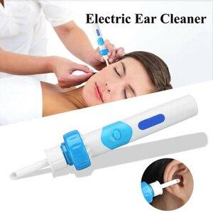 Хит продаж, электрический беспроводной пылесос, безопасный безболезненный очиститель ушей, инструмент для удаления воска