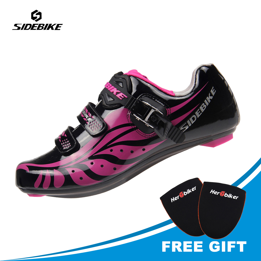 SIDEBIKE Professional font b Bicycle b font Cycling Women font b Shoes b font For Mountain