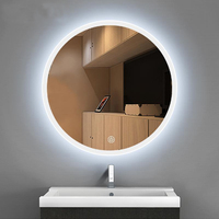 Bathroom led mirror lamp hand washing table toilet hanging wall wash hands mirror lamp clothing shop beauty salon led wall light