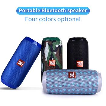 TG117 głośnik na zewnątrz Bluetooth wodoodporna przenośna kolumna bezprzewodowa głośnik obsługa karty TF Radio FM wejście Aux tanie i dobre opinie Nisheng Pełny Zakres Przenośne Z tworzywa sztucznego NONE 2 (2 0) Baterii Funkcja telefonu TG117 portable waterproof outdoor bluetooth speaker