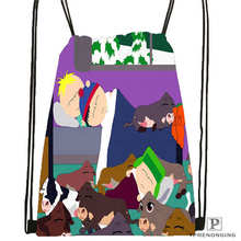 Custom south-park- Drawstring Backpack Bag Cute Daypack Kids Satchel (Black Back) 31x40cm#2018612-01-(6)