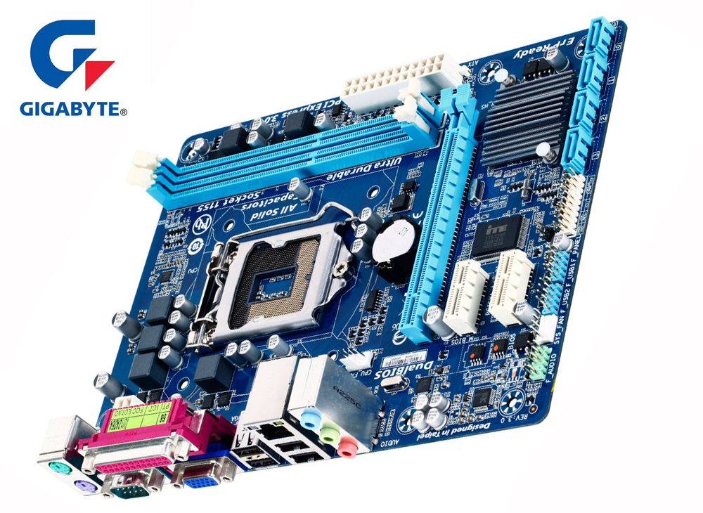 Gigabyte Motherboard GA-H61M-DS2 motherboard with Intel H61 LGA 1155 DDR3 DIMM Socket 16GB Support Core i7/i5/i3/Pentium/CeleronGigabyte Motherboard GA-H61M-DS2 motherboard with Intel H61 LGA 1155 DDR3 DIMM Socket 16GB Support Core i7/i5/i3/Pentium/Celeron