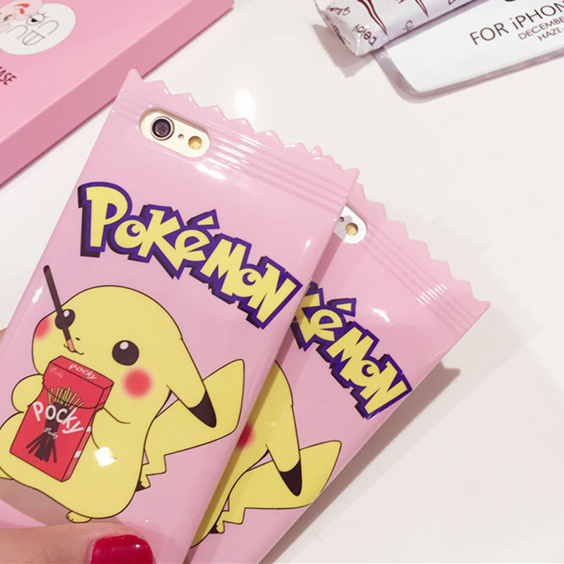 IMD Candy Pokemons go Rubber Phone Case