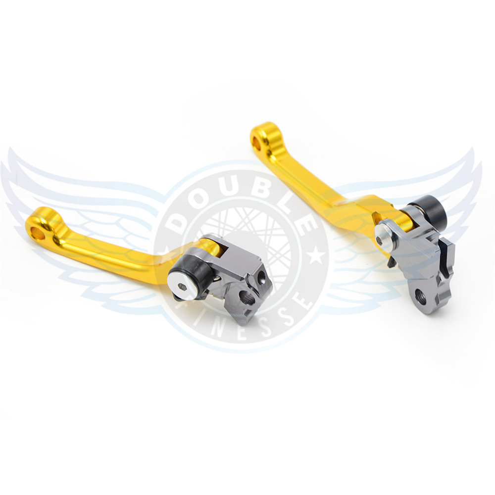 ФОТО motorcycle accessories increased torque of cnc pivot brake clutch levers For KTM 505XC-F 2008