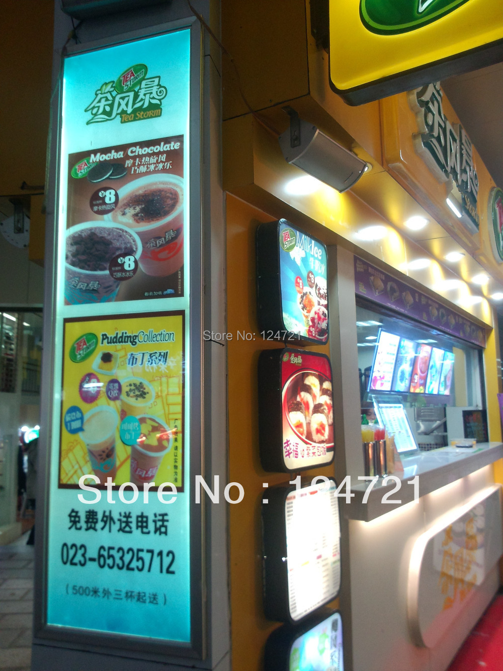 Outdoor Led Open Sign Led Backlight Light Box For The Restaurant Mune Boards A3 Size