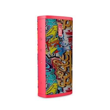 Портативная bluetooth колонка MIFA A10, красный-граффити