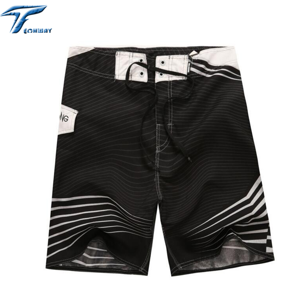 Big Size Mens Shorts Surf Board Shorts Summer Sport Beach Homme Bermuda Short Pants Quick Dry Silver Boardshorts 2018 New 30-44