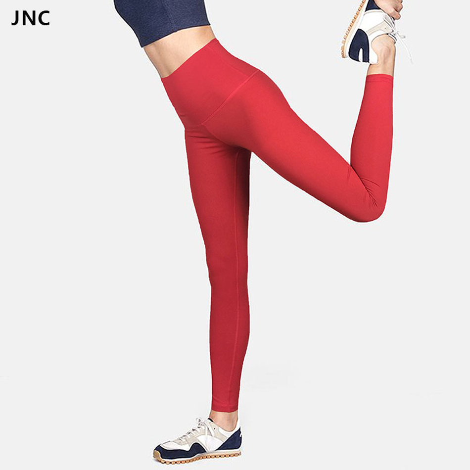 Chinese Red High Waisted Yoga Pants For Women Gym Squat