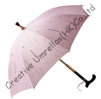 Auto-défense béquille parapluies, vieil homme incassable de parapluies, bâton de marche, en laiton détachable arbre, 100% Formosa taffetas, muti-utiliser