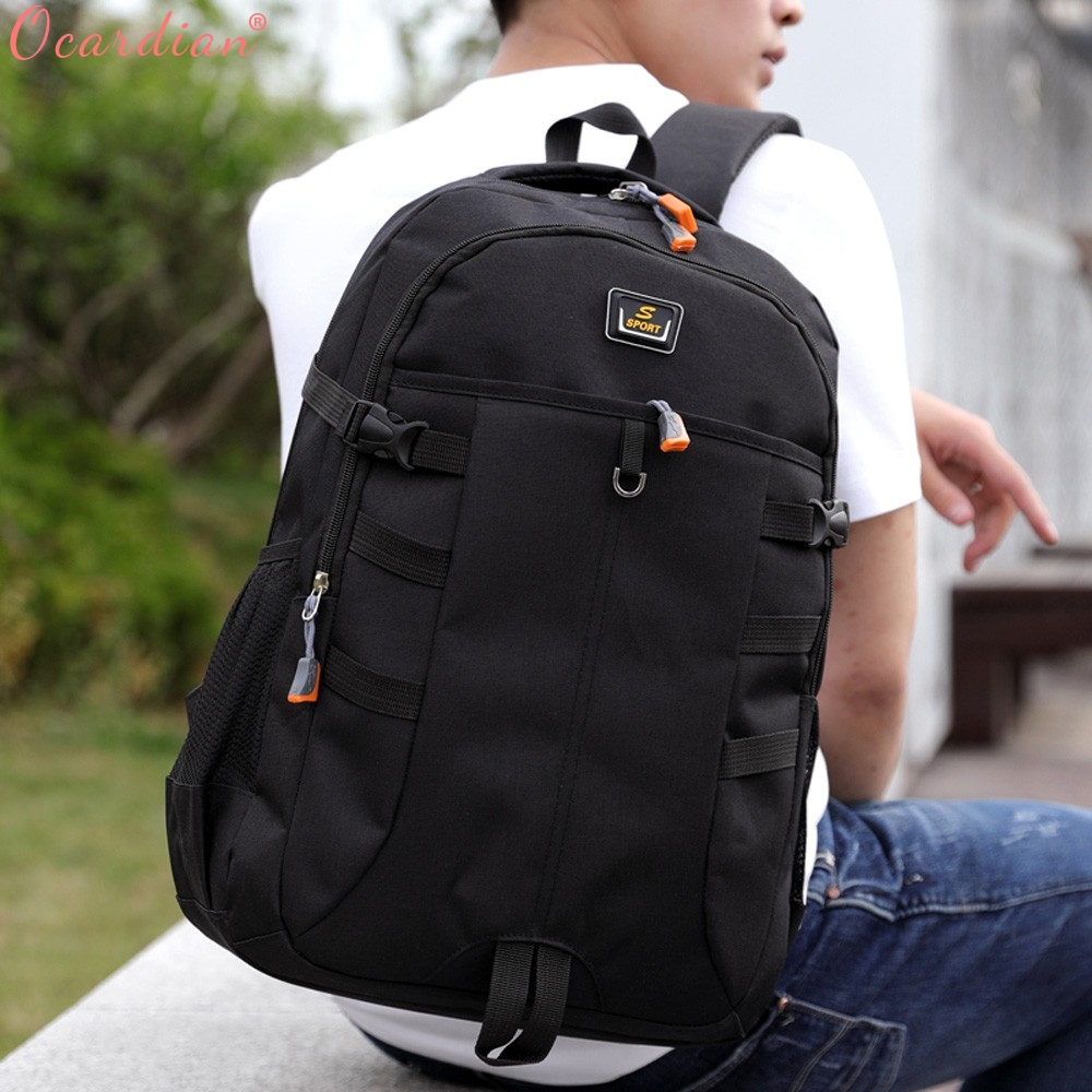 Ocardian Backpacks Unisex Large Capacity Travel School Backpack Women Backpacks Nylon Waterproof Backpack Men Jl 16 #6