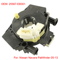 Spiral Cable Clock Spring Airbag For Nissan Pathfinder Navara 05-13 OEM 25567-EB301