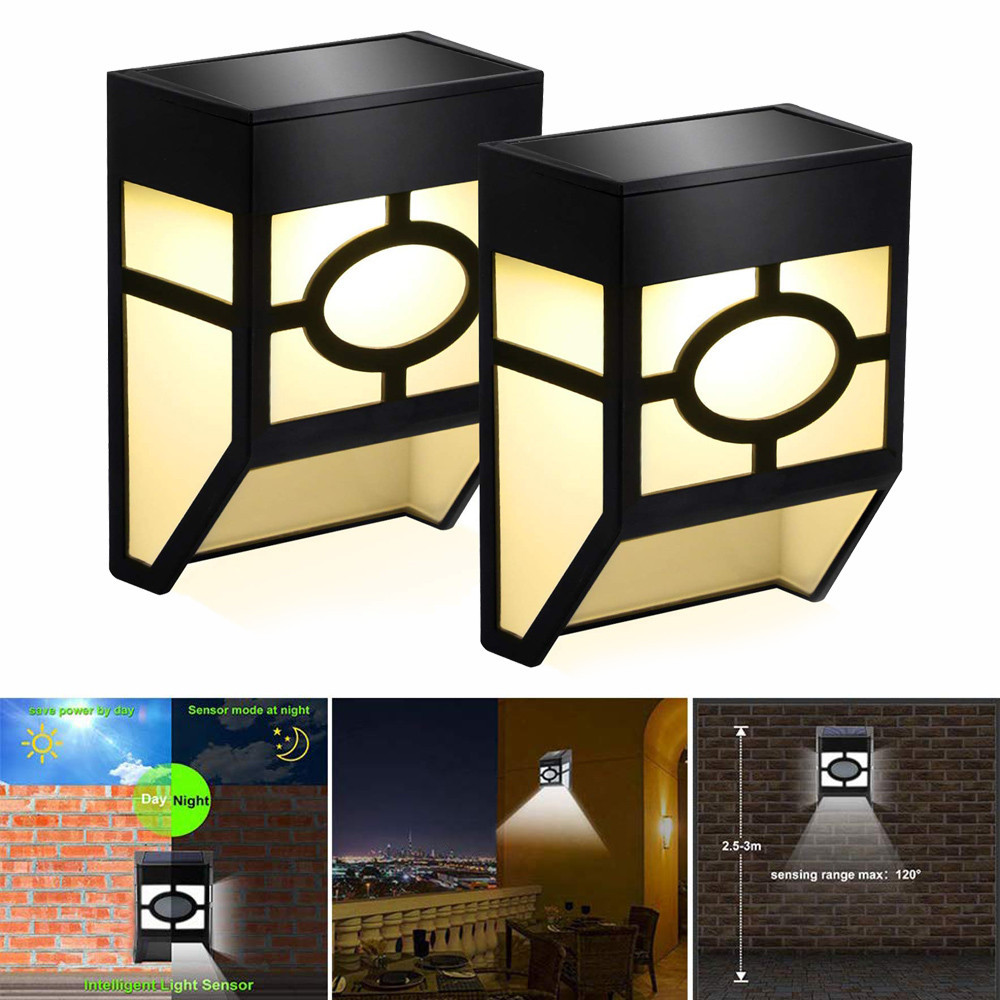 Solar Wall Lamp Ed Lights For