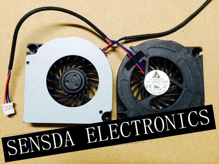 Bilgisayar ve Ofis'ten Fanlar ve Soğutma'de 1 adet delta KDB04112HB  G203 BB12 AD49 12V 0.07A 6CM dilsiz blower projektör soğutucu soğutma fanı için LE40A856S1 LE52A856S1MXXC