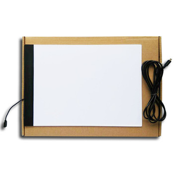Dimmable ! Ultrathin A4 LED Light Tablet Pad Diamond Embroidery Light Tracing Table Pad Diamond Painting Cross Stitch YF1944