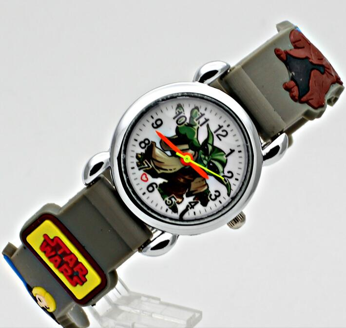 US $5 98 |3D Movie Characters Cartoon Design Wrist Watch Analog Clock Kids  / Kid Doll Quartz Watches-in Children's Watches from Watches on
