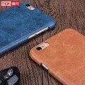 Caso a estrenar para el iphone 6 caso mofi lujo de cuero marrón caso de la cubierta 4.7 pulgadas para iphone 6 s accesorios funda de protección negro