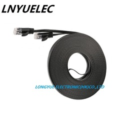 NEW CAT6 0.3m 1m 2M 3m 10ft 5m 15ft 8m10m 15m 50ft 20m 30M CAT6 Flat UTP Ethernet cable Network Cable RJ45 Patch LAN cable