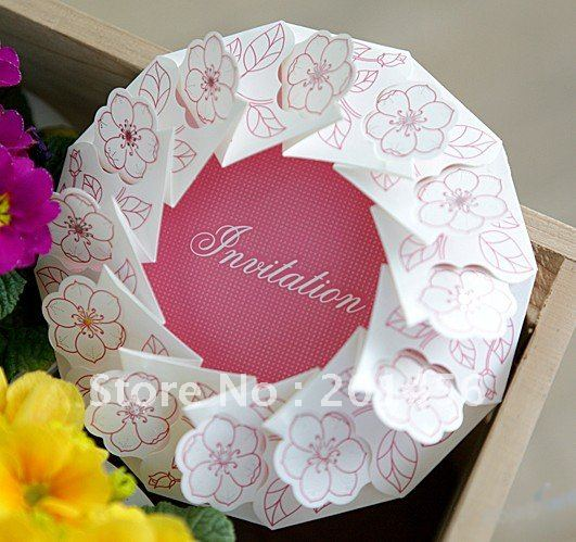 Aliexpress Buy Invitation Card Wedding Invitation YGB121