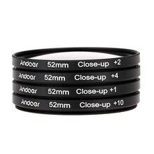 55mm Macro Close Up 1 2 4 10 4pcs lot font b Lens b font Filter