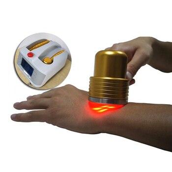 Laserpegel Sinkt | Professionelle CE 808nm Diode Low Level Weiche Laser Therapie LLLT Körper Schmerzen Relief Gerät Physiotherapie
