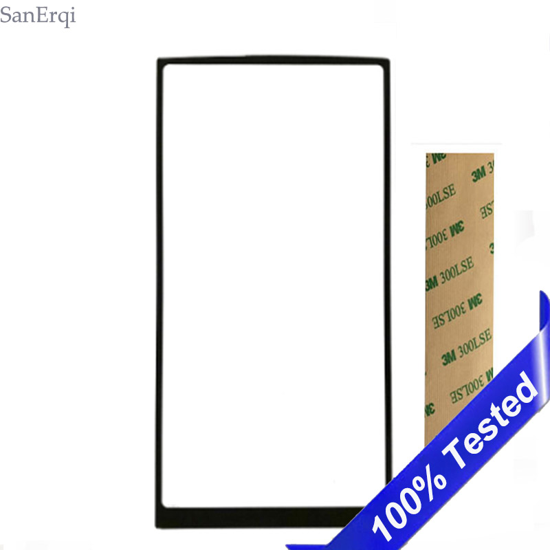 For <font><b>HOMTOM</b></font> HT70 Touch Screen Digitizer Front Glass Lens Panel HT <font><b>70</b></font> NOT LCD Display SanErqi image