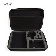 Anjirui étanche de stockage de transport sac voyage cas pour gopro hero sessions 4/4/3 +/3/2/1/xiaomiyi d'action caméra cas accessoires