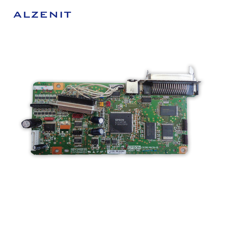 GZLSPART For Epson LQ 300K+2 300K+II LQ-300K+II LQ300+II LQ300+2  Original Used Formatter Board Printer Parts On Sale  alzenit for epson lq 300k 2 300k ii lq 300k ii lq300 ii lq300 2 original used formatter board printer parts on sale