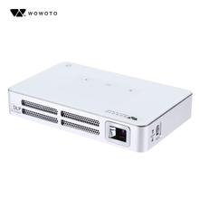 Original wowoto A5 Android4.2 850 x 480 Pixels Mini DLP Projector Support HDMI AV USB Micro SD Card Slot for Home Throw