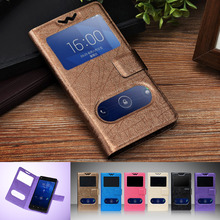 Luxury Double View Window Flip Cover PU Leather Cases For Oukitel K10000 Cases Cover Universal 5.5″ Luxury Phone Bag, Gift, F9
