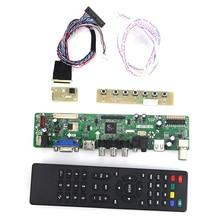 T. VST59.03 для B101AW06 V.1 N101L6-L01 ЖК-дисплей/светодиодный контроллер драйвер платы (ТВ + HDMI + VGA + CVBS + USB) LVDS повторное использование ноутбука 1024×600