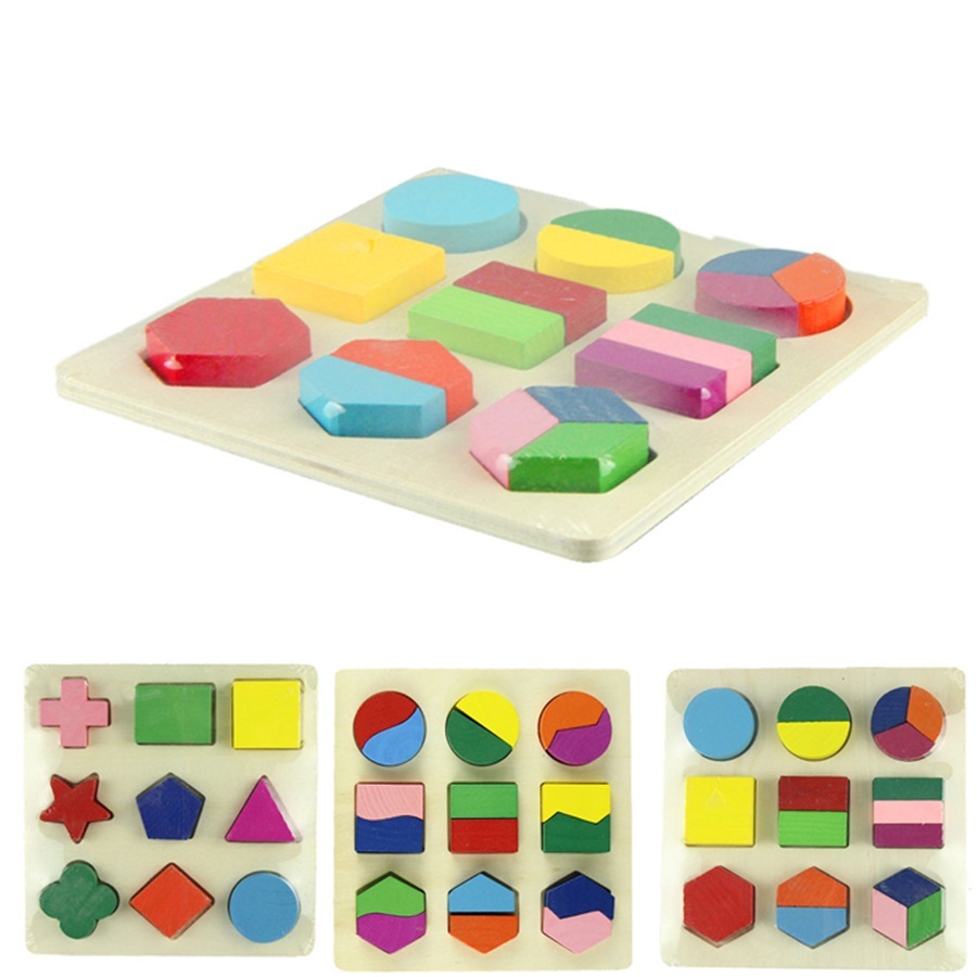 Simple DIY shape puzzle for babies and toddlers - Laughing ...