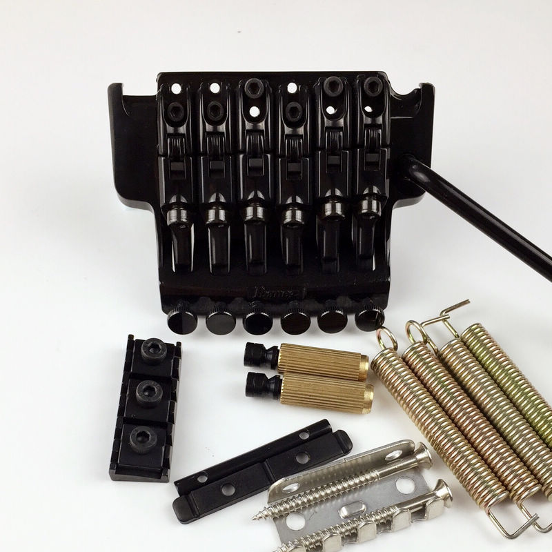 EDGE III Electric Guitar Locking Tremolo System Bridge String lock 43MM For IBZ Black floyd rose electric guitar bridge tremolo bridge locking system gold chrome black free shipping