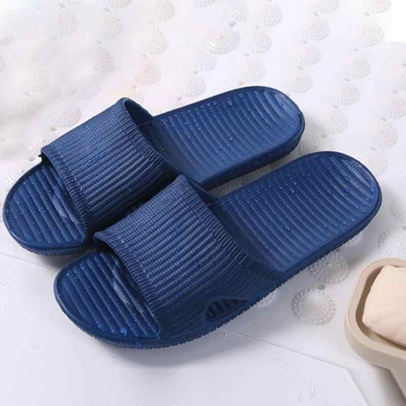 26f3f831be9213 2018 Hot Summer High Quality Sports Beach Soft Shower Sandals Home Flat Bath  Slippers Indoor