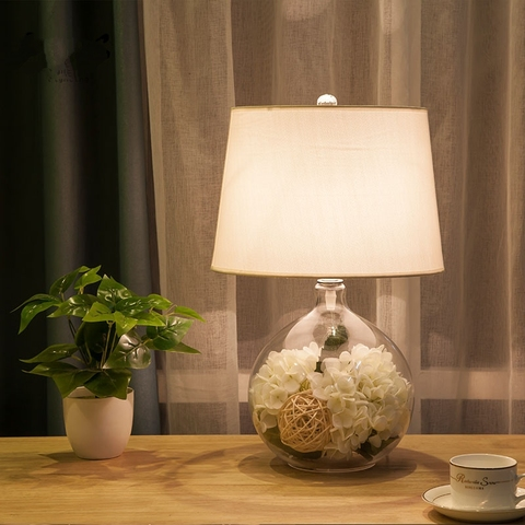 jardim americano criativo simples lampara pe
