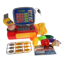 Cash Register with Scanner Weighing Scale Electronic Kid Toy  #T026#