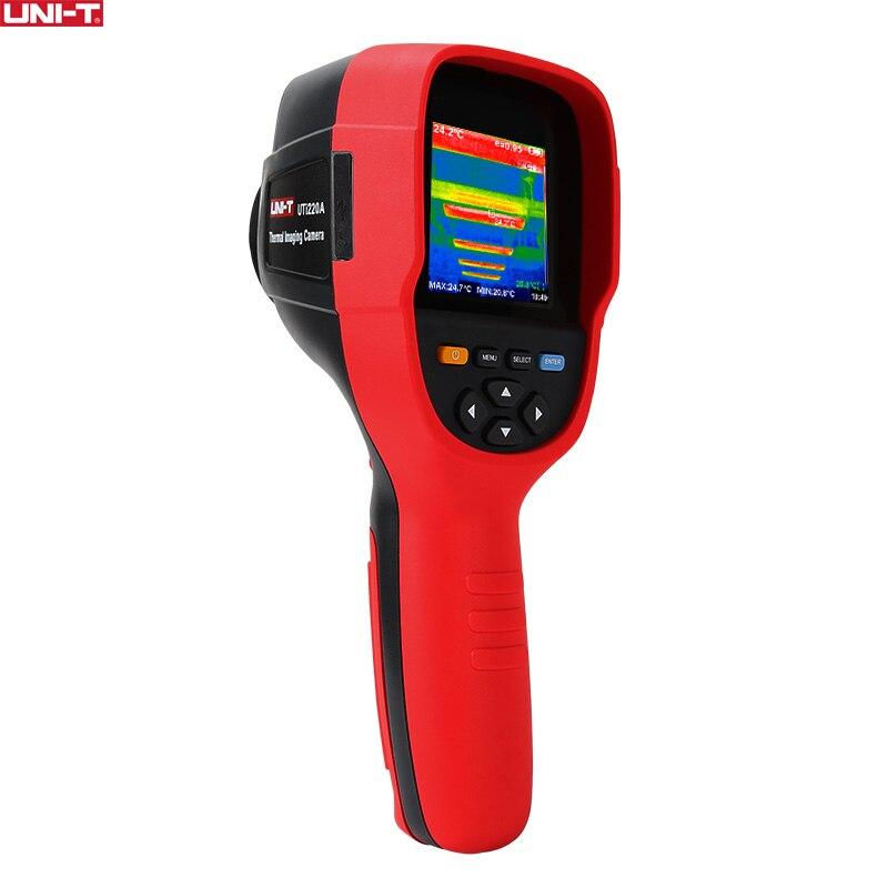 UNI-T UTi220A haute définition HD infrarouge caméra imageur thermique détecteur de chauffage par le sol imageur de température 300000 Pixels